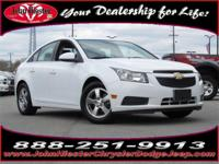 Options:  2014 Chevrolet Cruze 1Lt|White|Balance Of
