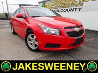 Meet our GM Certified 2014 Chevrolet Cruze. This