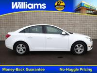 Options:  2014 Chevrolet Cruze 1Lt|White|Clean Vehicle