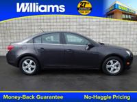 Options:  2014 Chevrolet Cruze 1Lt|Gray|Clean Vehicle