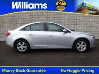 Options:  2014 Chevrolet Cruze 1Lt|Silver|Clean Vehicle