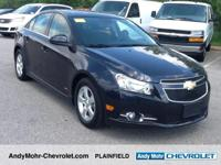 Chevrolet Cruze  Clean CARFAX. CARFAX One-Owner.