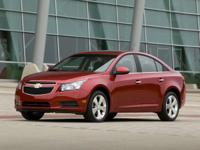 Cruze 1LT and ECOTEC 1.4L I4 SMPI DOHC Turbocharged