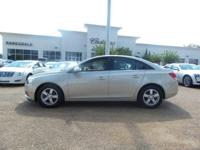 Options:  2014 Chevrolet Cruze 1Lt|Champagne Silver