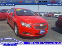 2014 Chevrolet Cruze 1LT This Chevrolet Cruze is