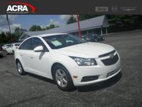 Used 2014 Chevrolet Cruze, stk # 171364, key features