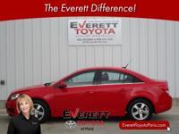 Recent Arrival! 2014 Chevrolet Cruze 1LT Red ECOTEC