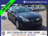 2014 Chevrolet Cruze 1LT CARFAX One-Owner. Clean