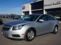 "THIS ""LIKE NEW"" 2014 CHEVROLET CRUZE IS IN EXCELLENT"