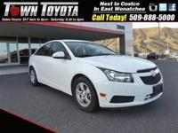 Options:  2014 Chevrolet Cruze 1Lt|Turbocharged| Front