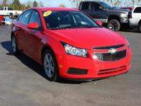This 2014 Chevrolet Cruze 2LT in Red Hot features.