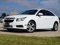 2014 Chevrolet Cruze 2LT in Summit White, This Cruze