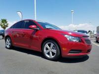Look at this 2014 Chevrolet Cruze 2LT. Its Automatic