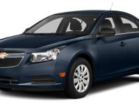 This 2014 Chevrolet CRUZE 4dr 4dr Sedan Automatic 2LT