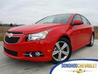 This 2014 Chevrolet Cruze is GM Certified Pre Owned.