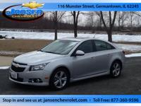 Our 2014 Chevy Cruze 2LT has Premium Leather, remaining