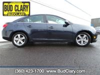 Land a score on this certified 2014 Chevrolet Cruze 2LT
