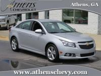ONE OWNER! This 2014 Cruze offers an astounding 38mpg
