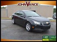 2LT trim. CARFAX 1-Owner. EPA 38 MPG Hwy/26 MPG City!