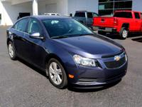 NICE CHOICE!!!  This 2014 Chevrolet Cruze is here at