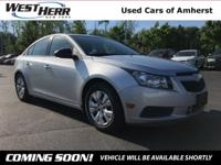 Recent Arrival! New Price! 2014 Chevrolet Cruze LS