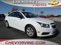 Cruze LS Auto. All the right active ingredients! Come