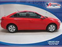 Come and see this 2014 Chevvrolet Cruze LS with an