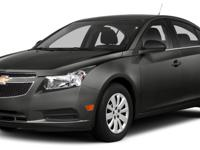 Gray 2014 Chevrolet Cruze LS FWD 6-Speed Automatic
