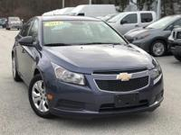 2014 Chevrolet Cruze LS Blue 22/35 City/Highway MPG