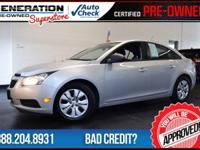2014 Chevrolet Cruze. Right car! Right price! Get
