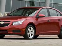 This WHITE 2014 Chevrolet Cruze LS Auto might be just