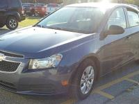 This one owner, 2014 Chevy Cruze has 16-inch steel