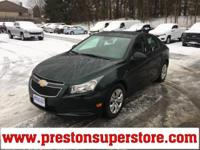 Options:  2014 Chevrolet Cruze Ls|Green|*Gm Certified!*