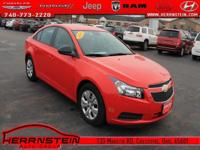 Alloy Wheels, CD Player, Cruze LS, 4D Sedan, ECOTEC