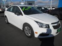 Options:  2014 Chevrolet Cruze Ls|Ls|4Dr Sdn|1.8L 4