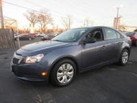 This 2014 Chevrolet Cruze LS is Well Equipped with