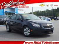 *CLEAN AUTOCHECK* and *ONE OWNER*. Cruze LS, 4D Sedan,