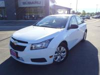 Options:  2014 Chevrolet Cruze Ls|White|16 Steel