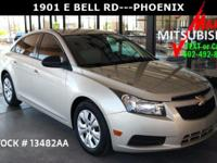 ** CRUZE LS ** 1 OWNER **with** ONLY 32K MILES **