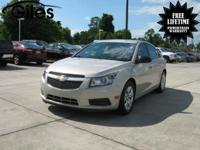This sweet 2014 Chevrolet Cruze LS Manual is the