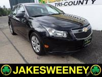 Meet our GM Certified 2014 Chevrolet Cruze LS. This