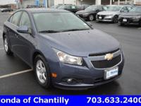 CARFAX One-Owner. Clean CARFAX. Blue 2014 Chevrolet