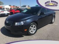 One owner, 2014 Cruze LT Sedan in Dark Blue with Gray