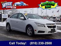 2014 Cruze 1LT Clean CARFAX One Owner At Randy Wise