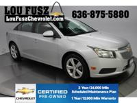 SUPER LOW MILES! Super Clean Cruze with Leather seat.
