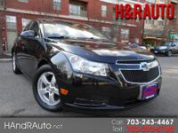 One owner carfax certified cruze lt with new oil