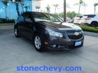 Clean CARFAX. Certified. 2014 Chevrolet Cruze 1LT