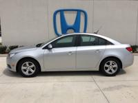 Come see this 2014 Chevrolet Cruze 1LT. Its Automatic
