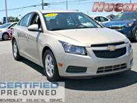 New Price! This 2014 Chevrolet Cruze 1LT in Beige