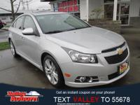 Cruze LTZ, 6 Speaker Audio System Feature, Heated